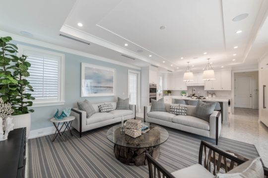 Arabian family room and kitchen by Ecclestone Homes