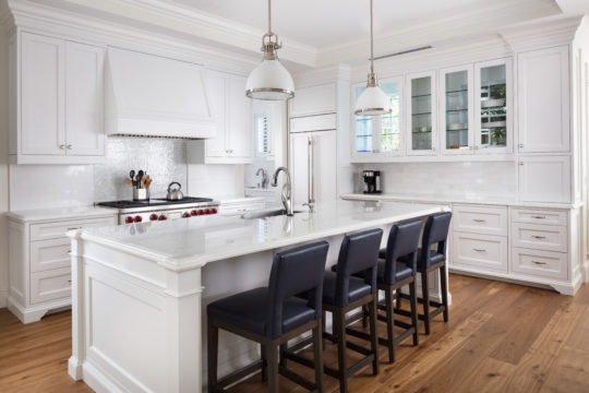 Kitchen space inside Palmo model by Ecclestone Signature Homes