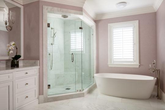 Palmo Master Bathroom by Ecclestone Signature Homes
