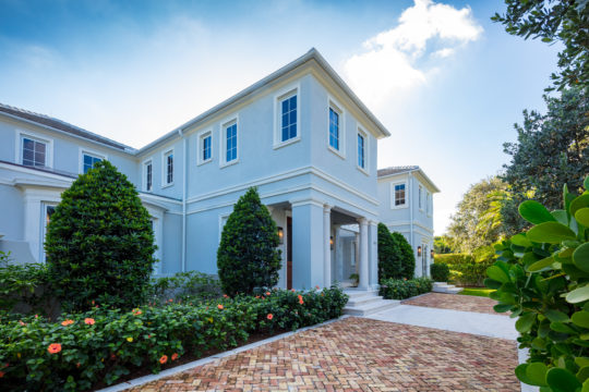 Exterior of Palmo Signature residence by Ecclestone Homes
