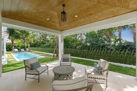gazebo at bahama home by llwyd eccestone
