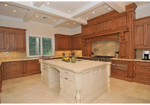 large farm house kitchen in old harbour home