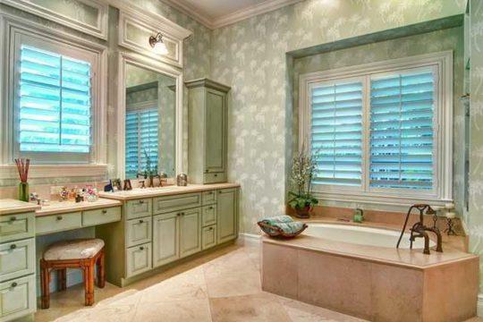 Lost Tree Village Bathroom with soaking tub