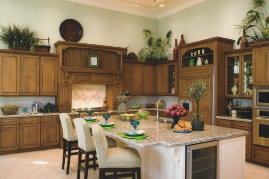 medalist brown dated kitchen before ecclestone remodel