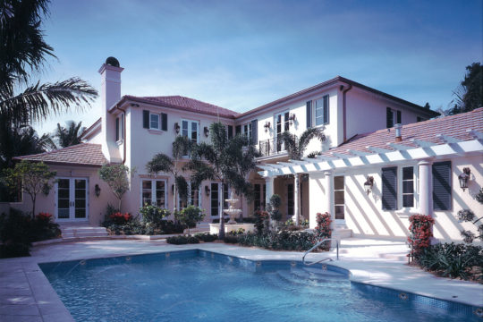 Coral Way Backyard and pool before the renovation by ecclestone homes