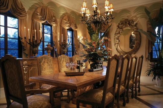 Woodbridge old dining room before ecclestone homes remodel