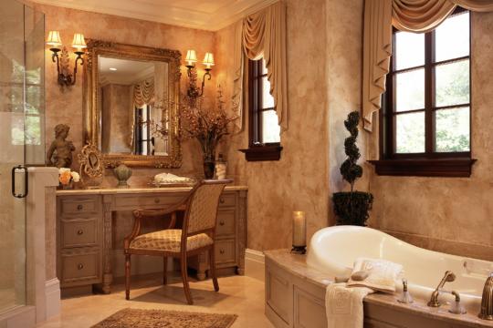 Woodbridge bathroom suite before ecclestone signature homes remodel