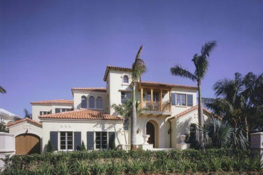 Villa Providencia exterior elevation before ecclestone homes