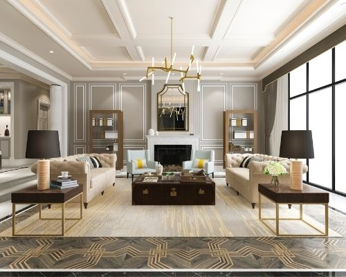 home with modern accents